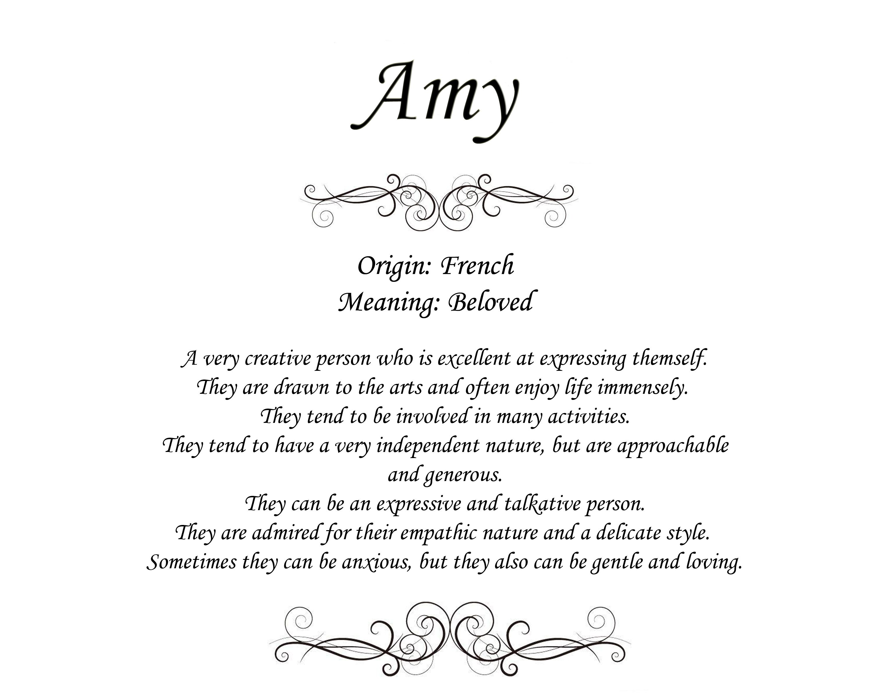 The meaning of the name amy origin and meaning fun pinterest the meaning of the name amy origin and meaning stopboris Choice Image