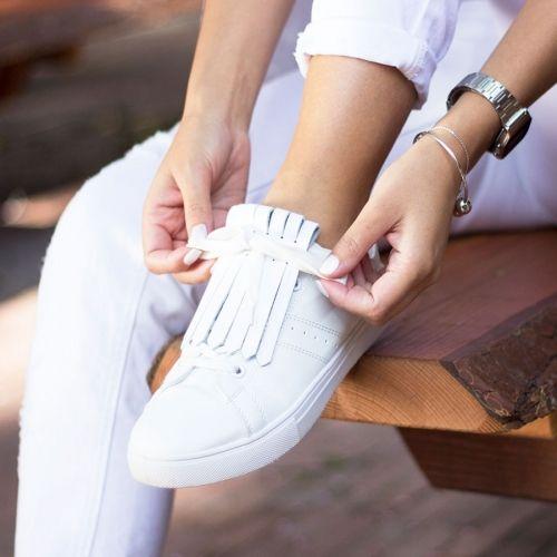 PiNNED by K | Verwisselbare Franjes voor Schoenen Schoenen
