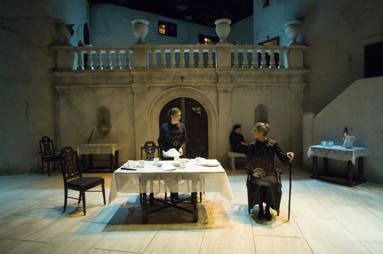house of bernarda alba at snow black box theatre at brigham young rh pinterest es