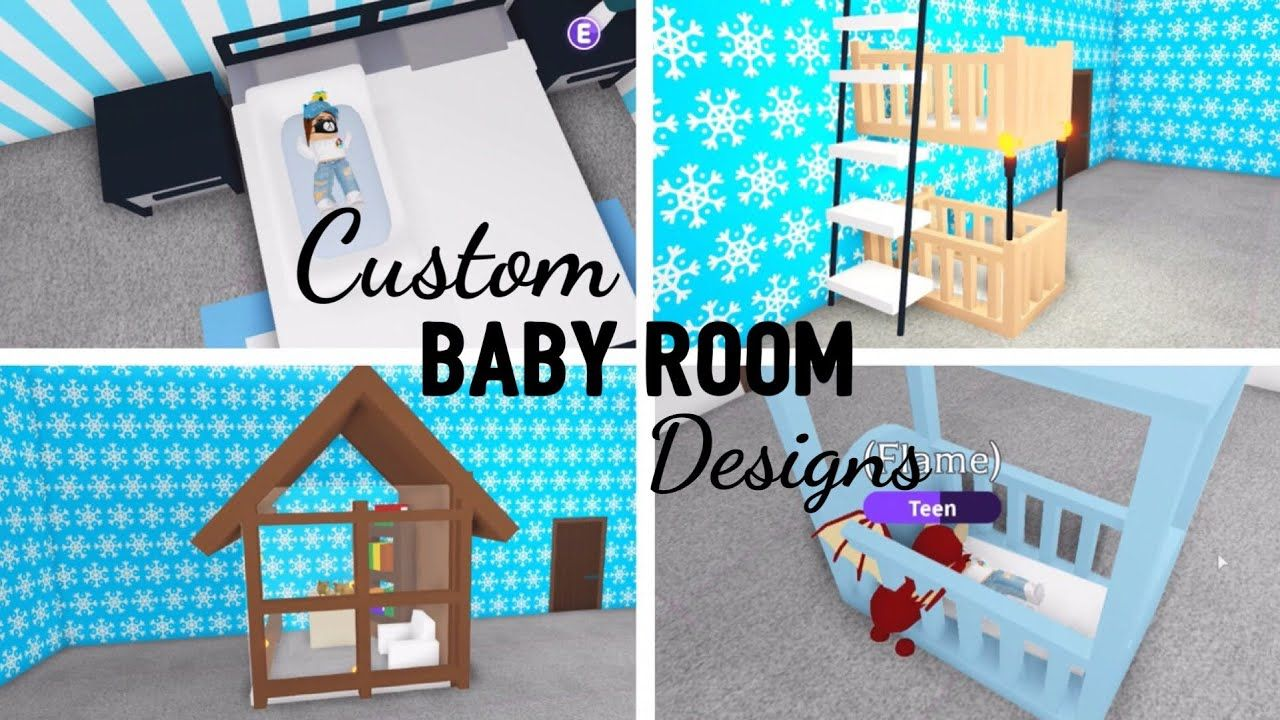 Adopt baby Building Custom Design HACKS Ideas Check