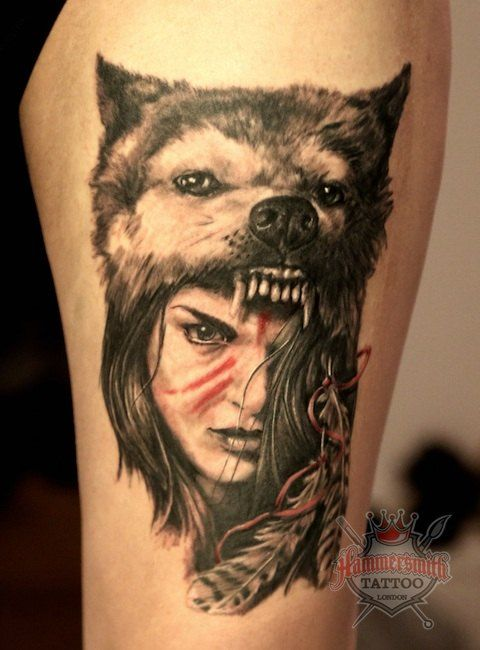 1425 Tattoo London Roman Tattoo London Tattoo Gallery Tattoo Artists London Hammersmith Tattoo Shop Lond Wolf Tattoos Roman Tattoo Headdress Tattoo