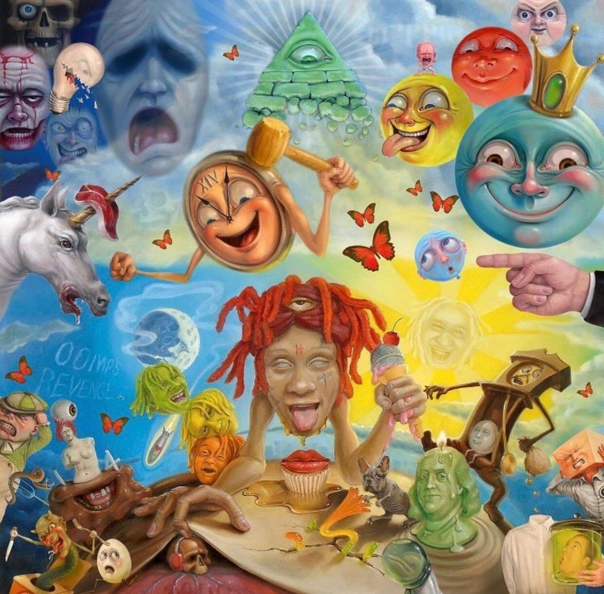 Trippie Redd Lifes A Trip Album Art Cover Art Art Music Vinyl Album Cover Art Rap Album Covers Album Art