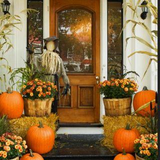 Harvest front porch