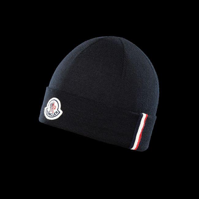 MONCLER MEN Hat BLACK  5220b2dce7a