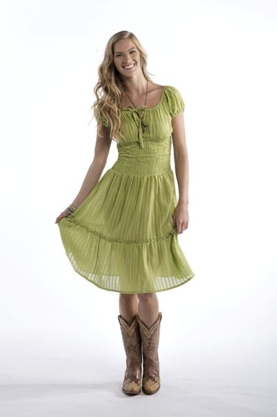 Country western cocktail dress