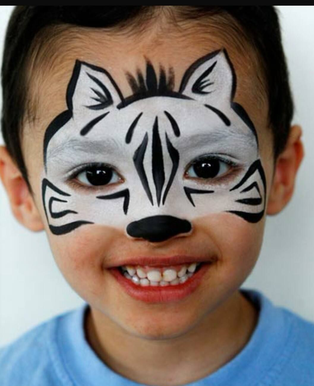 Schminkvorlage Zebra Pin By Tamara Schuitema On Face Painting Inspiration Face