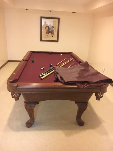 8 amf highlander pool table sold used pool tables billiard tables rh pinterest com