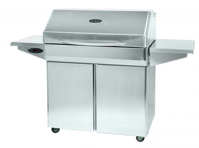 Memphis Elite 39 Inch Pellet Grill On Cart Vg0002s Pellet Grill Wood Pellet Grills Pellet