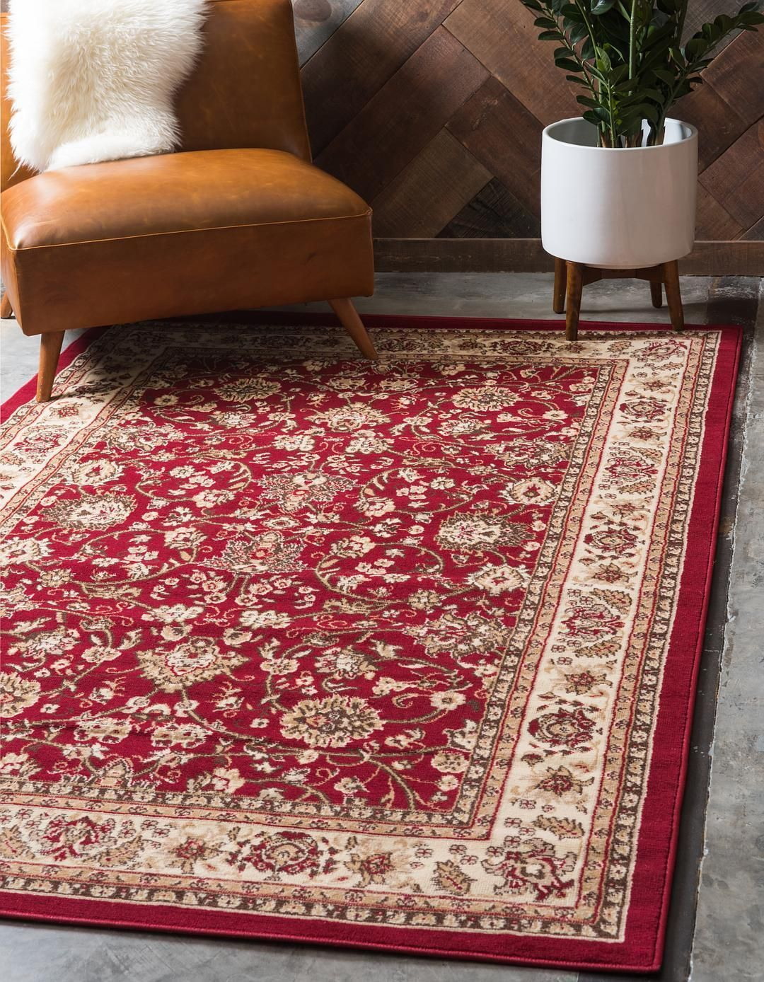 burgundy 5 x 8 kashan design rug area rugs esalerugs castle rh pinterest com