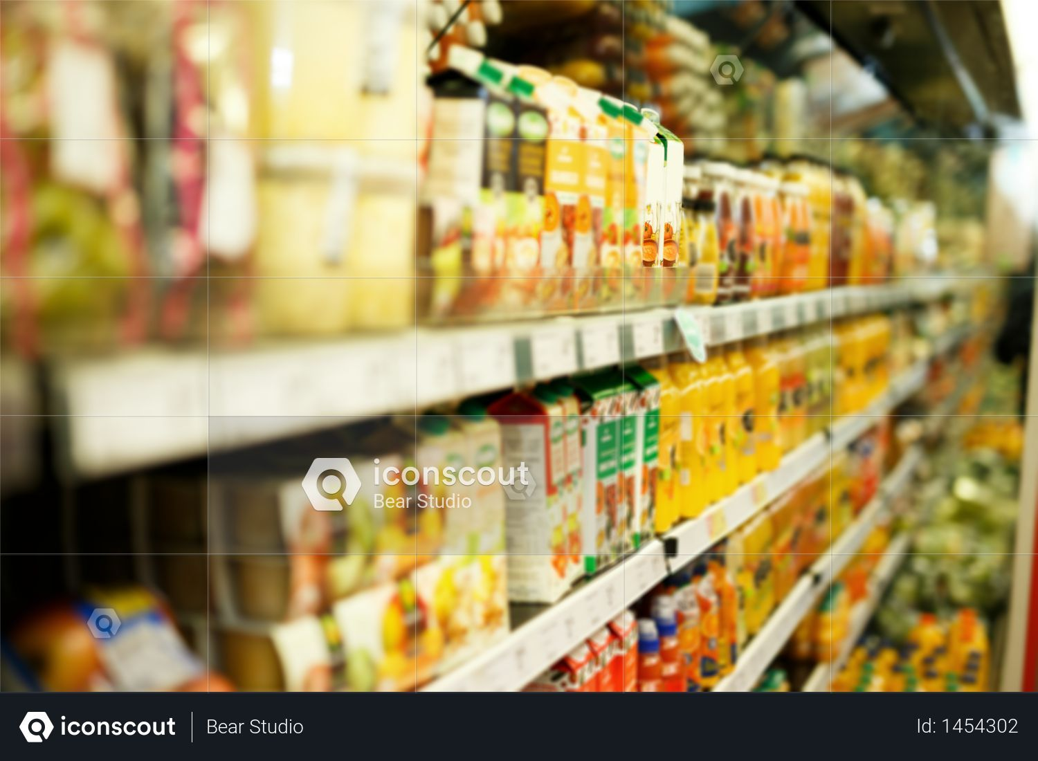 Premium Image Of Shelves With Different Grocery Products In The Supermarket Photo Download In Png Jpg Format Grocery Supermarket Drink Photo