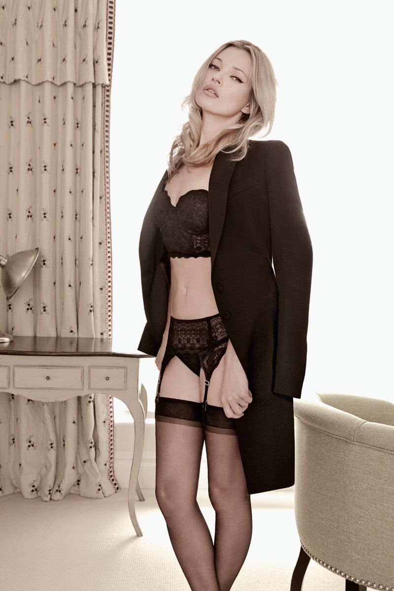Kate Moss lingerie campaign