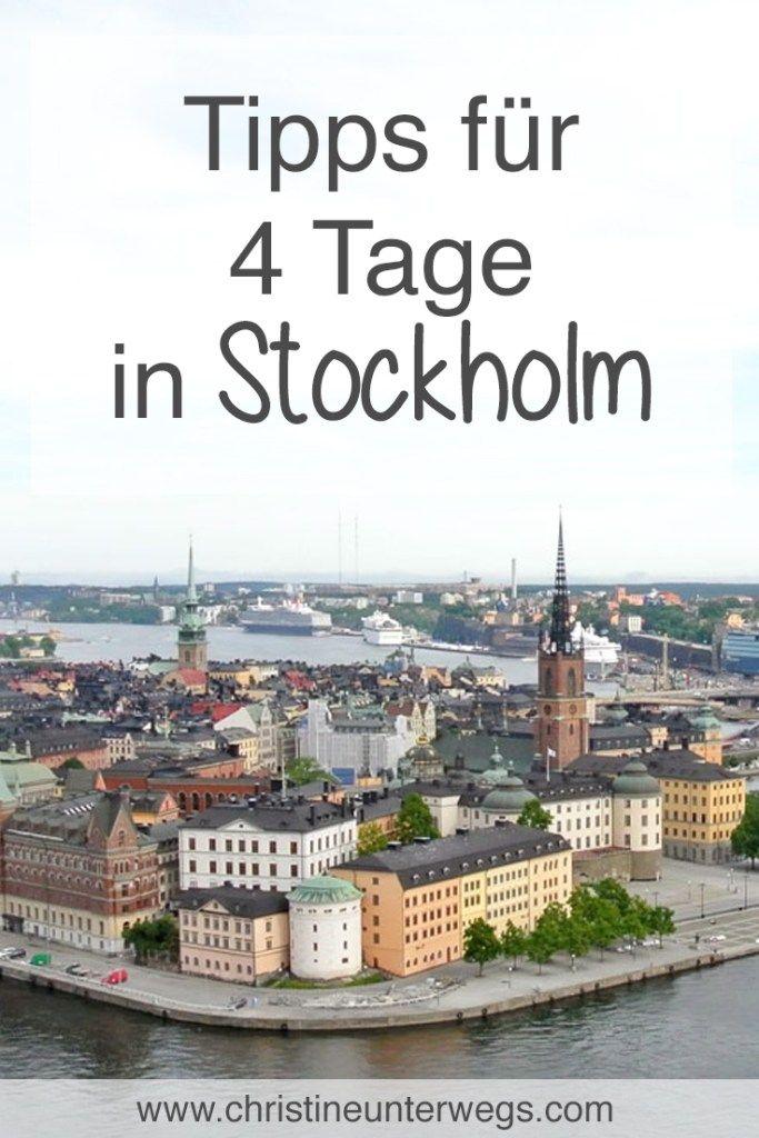 Ein langes Wochenende in Stockholm - Reisetipp von #travelengland