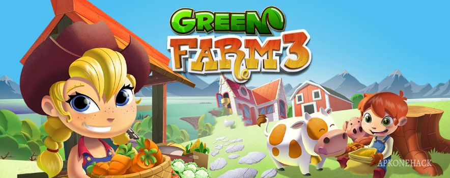 Green Farm 3 MOD Apk [Unlimited Cash and Coins] 4.0.6