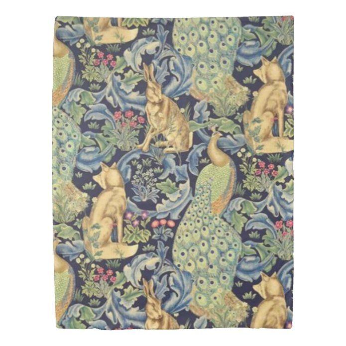 William Morris Forest Duvet Cover Zazzle Com In 2021 Duvet Covers Duvet Covers Twin William Morris