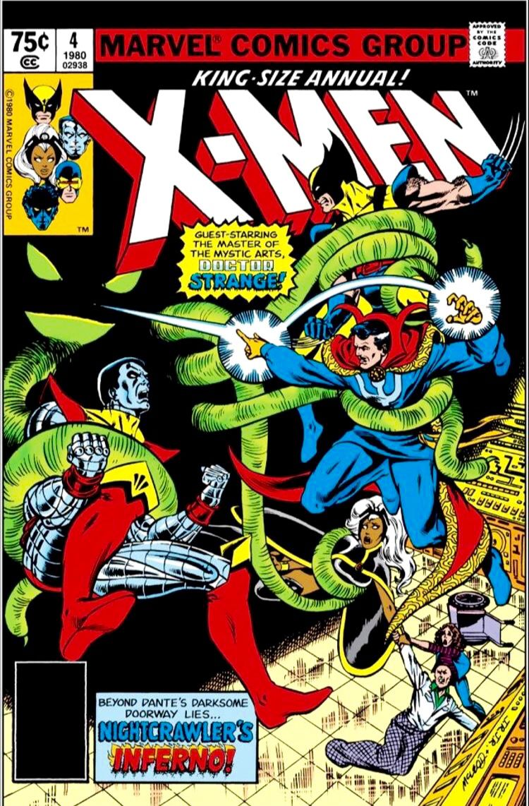 X-Men Annual no. 4 (Nov 1980)