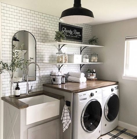 Photo of A Dream Laundry Room Makeover – Decor Steals Blog