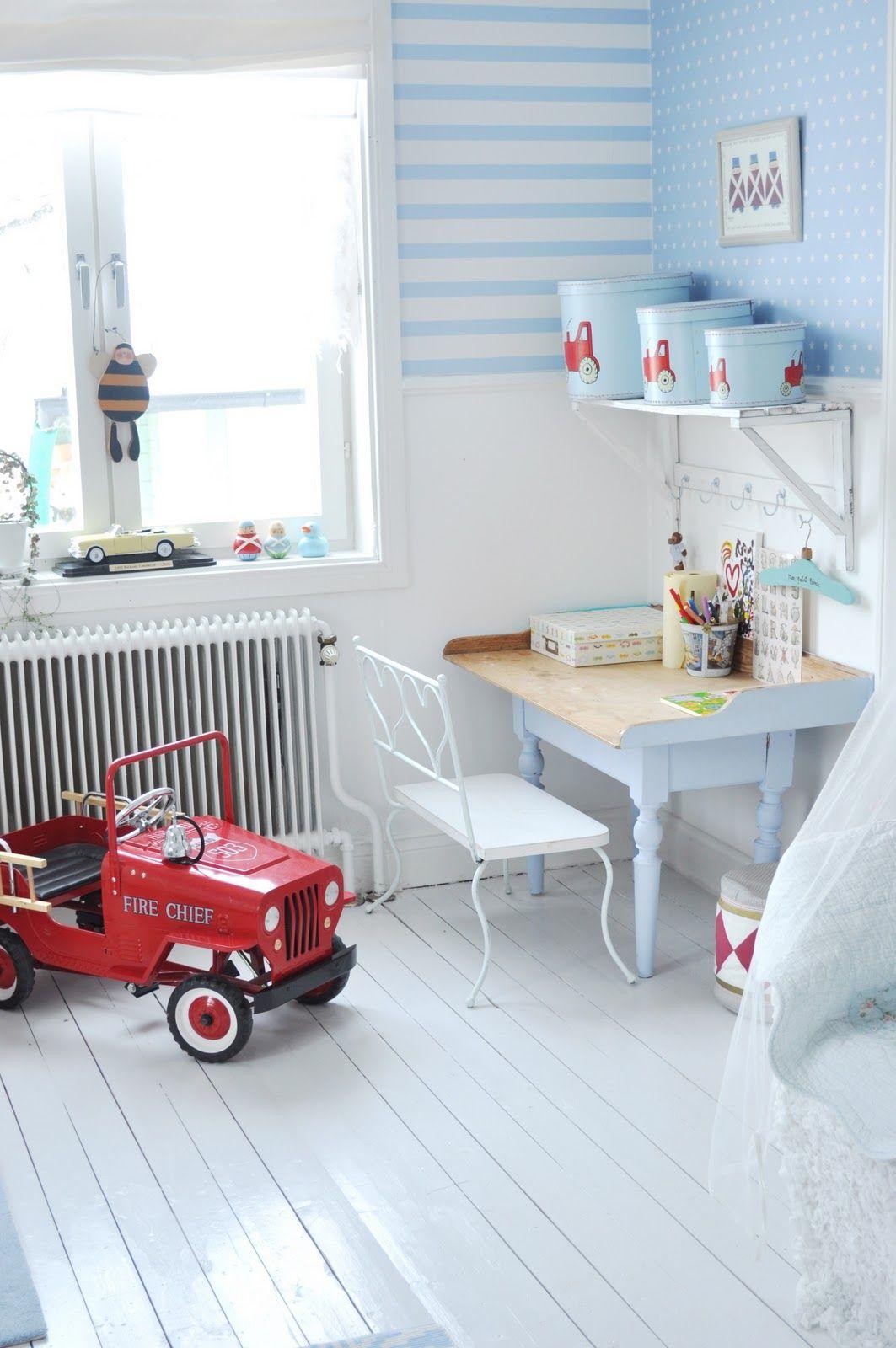 Pastel blues for baby boys bedroom Light