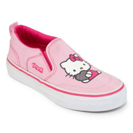 7307394e83 Vans Hello Kitty Asher Girls Skate Shoes - Little Kids (648335634912) Her  kick flips and rail grinds never looked so sweet as when she s wearing our  Hello ...