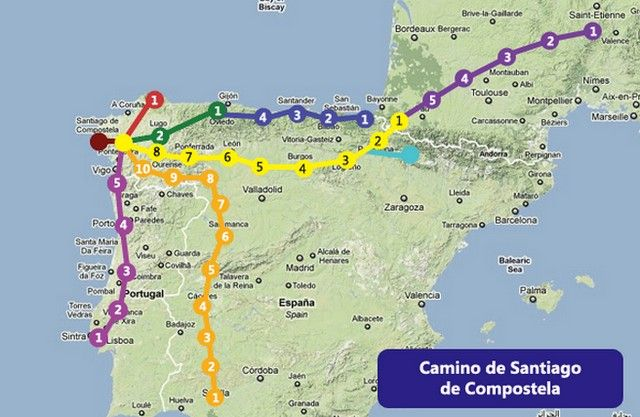 A Walker's Guide to the Camino- will come in handy! | Camino ... on camino santiago map, el camino map, middle ages pilgrimage map, camino trail map, camino pilgrimage map,