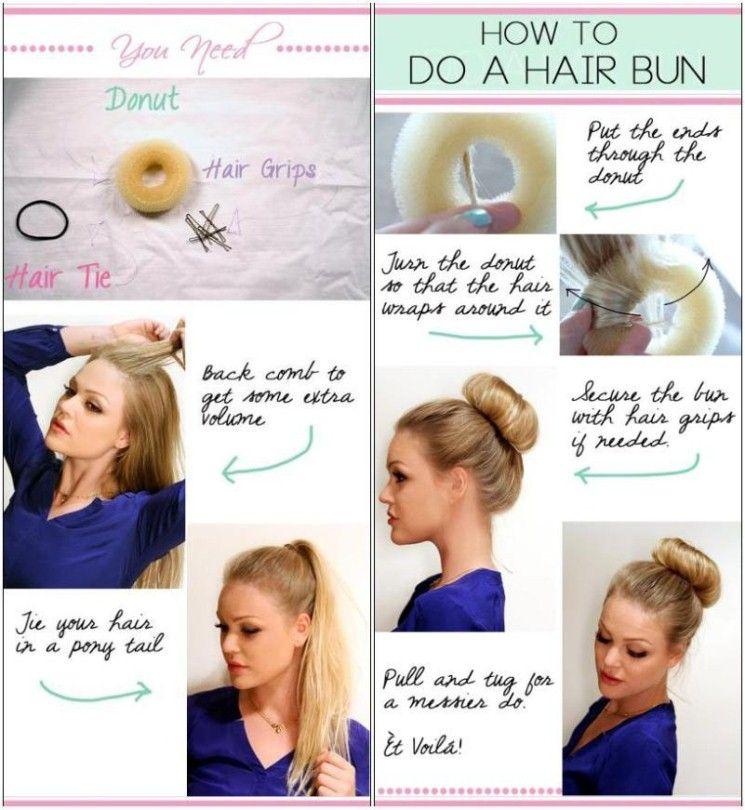 How To Do A Hair Bun Slightly Different Sock Bun Method Updo S