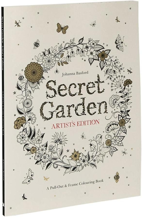 Artist Edition Secret Garden Coloring Book For Adults An Entire Full Of Exquisite