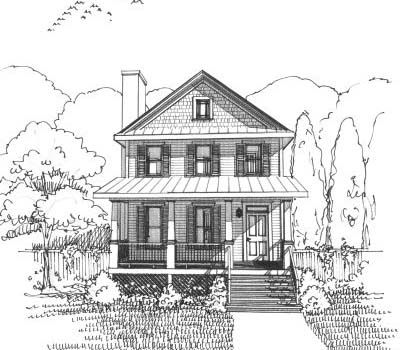 20 x 34 cottage style house plans 1435 square foot home 2 story rh pinterest com
