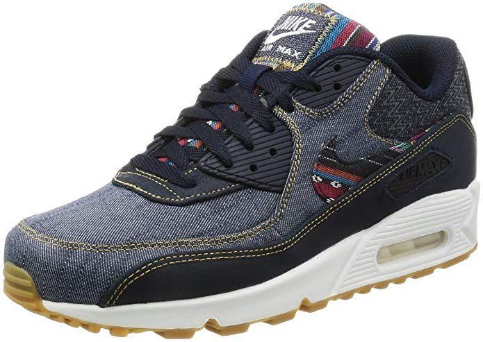 snygg snygg första titt Nike Air Max 90 Premium Mens Fashion-Sneakers 700155 Review ...