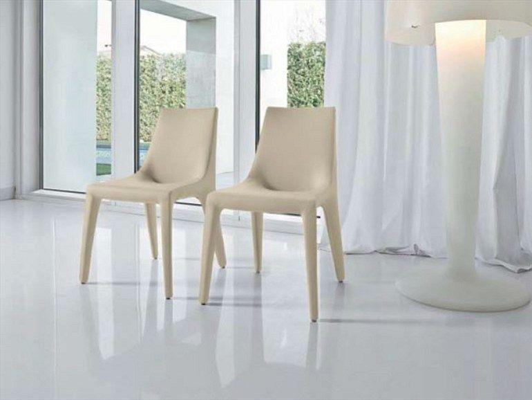 Cadeira estofada TIP TOE by Bonaldo | design Mauro Lipparini