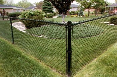 Black Coated Chain Link Fence Black Chain Link Fence Painted Chain Link Fence Garden Fence Panels