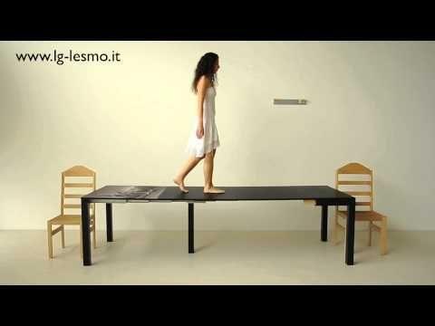 Tavolo Allungabile Lg Lesmo.Tavolo Trasformabile Magico Estensibile 14 Posti Lg Lesmo