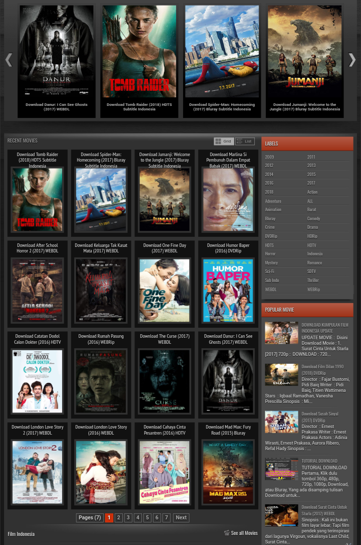 Download Film Bioskop Terbaru Film Remaja Film Horor Bioskop