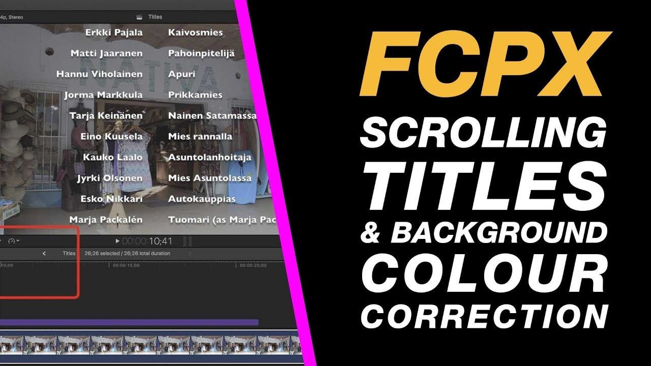 Pin on Editing Final Cut Pro