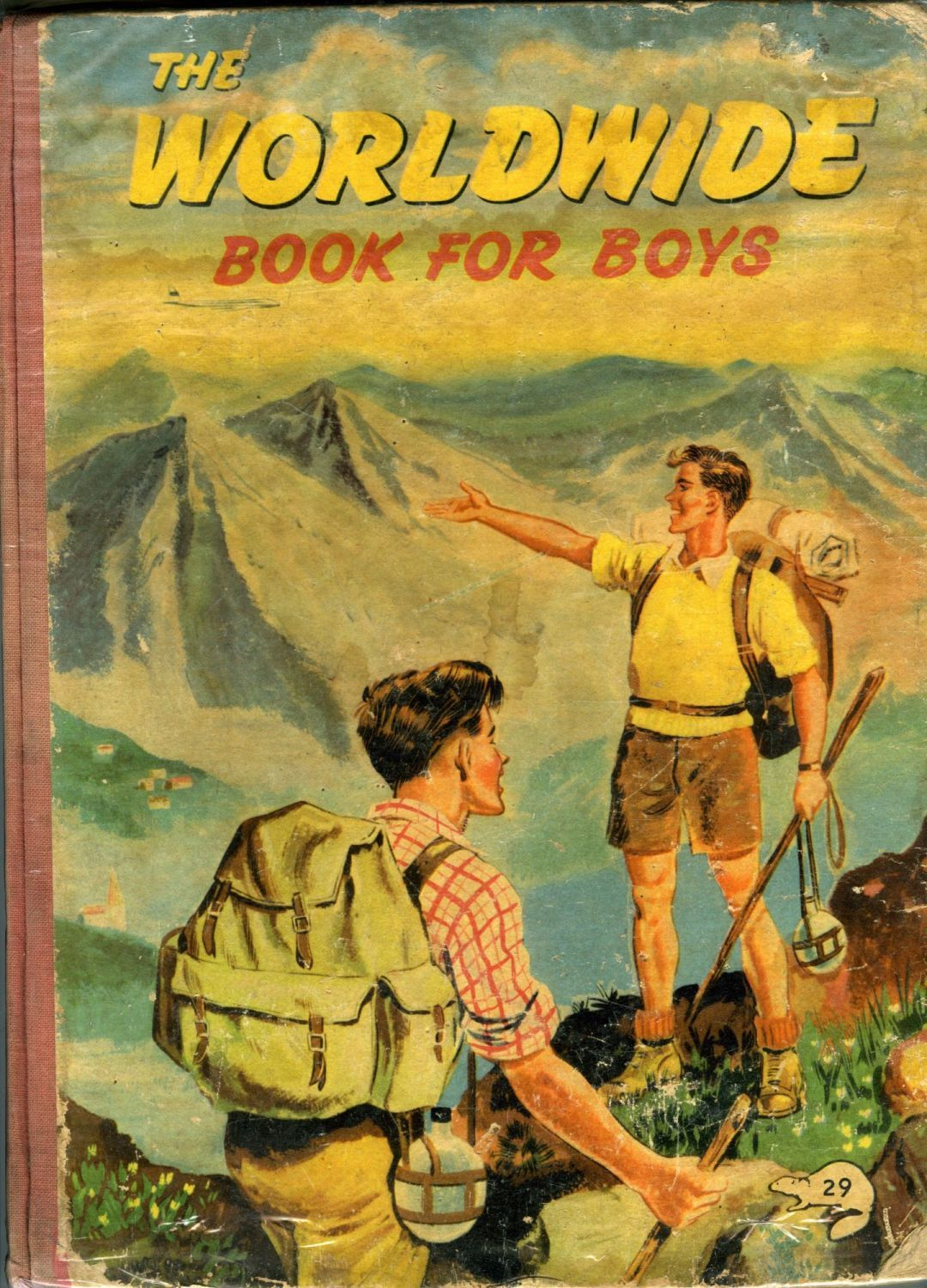 The Worldwide Book for Boys c1950s