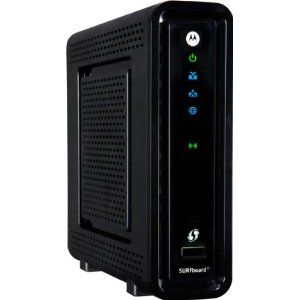 Motorola Surfboard Sbg6580 Docsis 3 0 Modem With Wifi 134 99 At Amazon Cable Modem Dual Band Router Motorola Surfboard