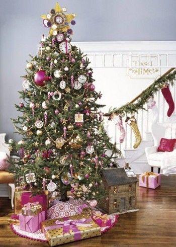 country living tree pink festive season pinterest pink trees rh pinterest com