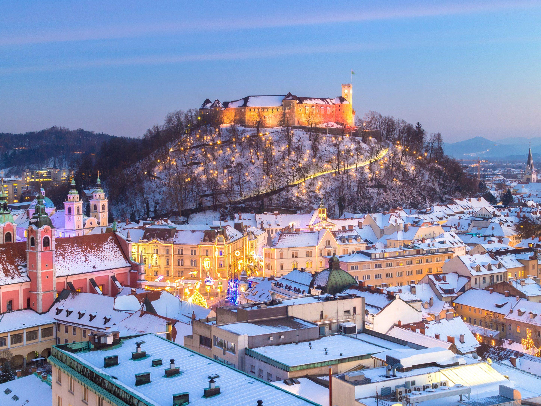 Ljubljana Slovenia In Winter Conde Nast Cool Places To Visit Most Beautiful Cities Ljubljana