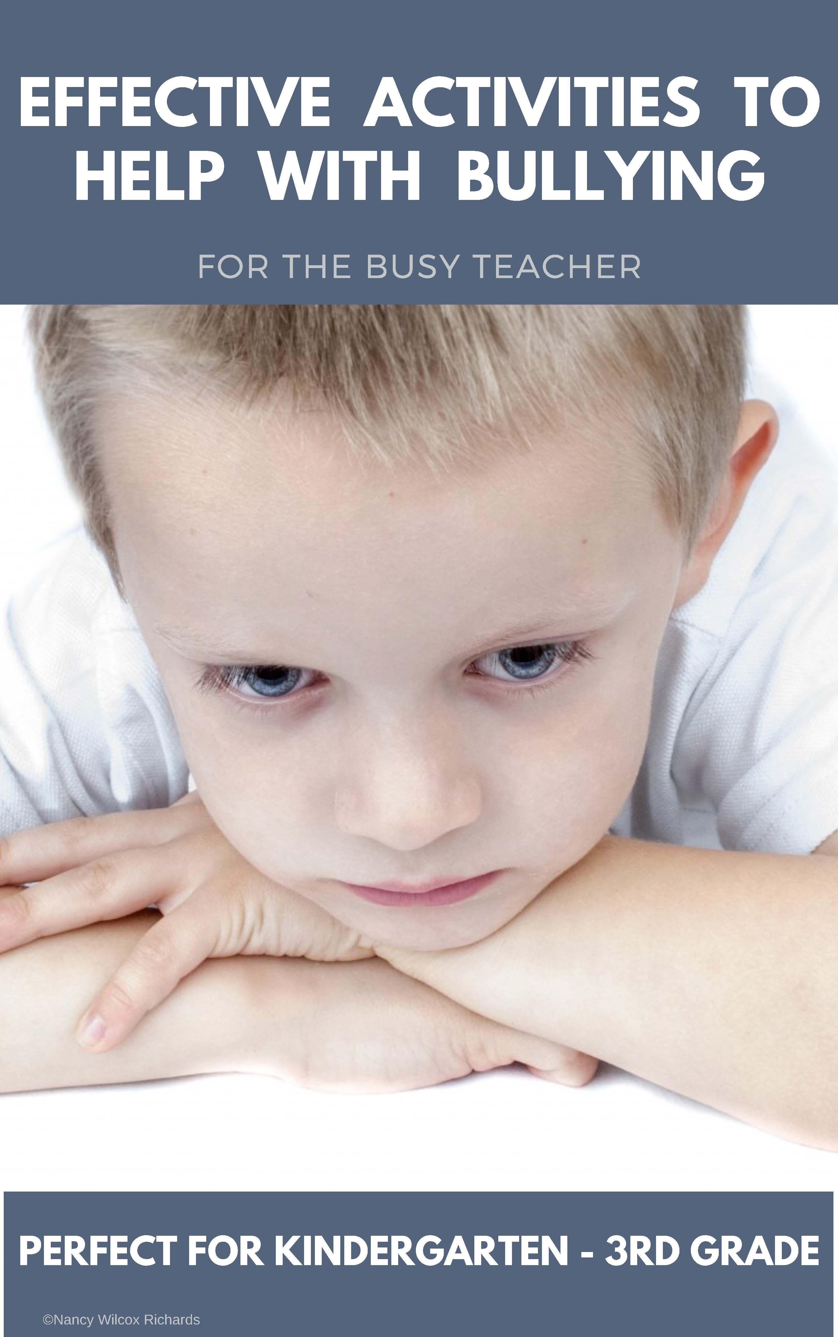 Anti Bullying Activities Mega Bundle With Anti Bullying