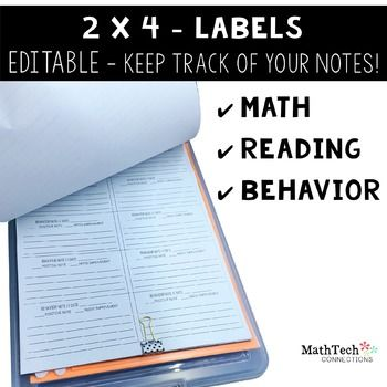 Anecdotal notes for math reading and behavior anecdotal notes anecdotal notes for math reading and behavior more fandeluxe Images