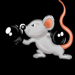 Мышки | Мышь, Открытки, Гороскоп