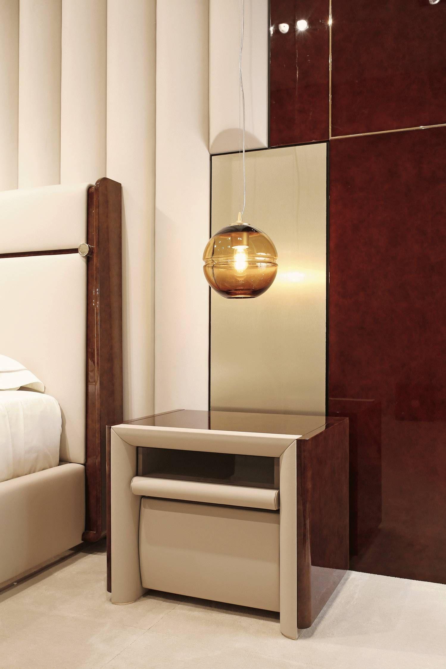 Madison Bedroom wwwit Italian luxury night table
