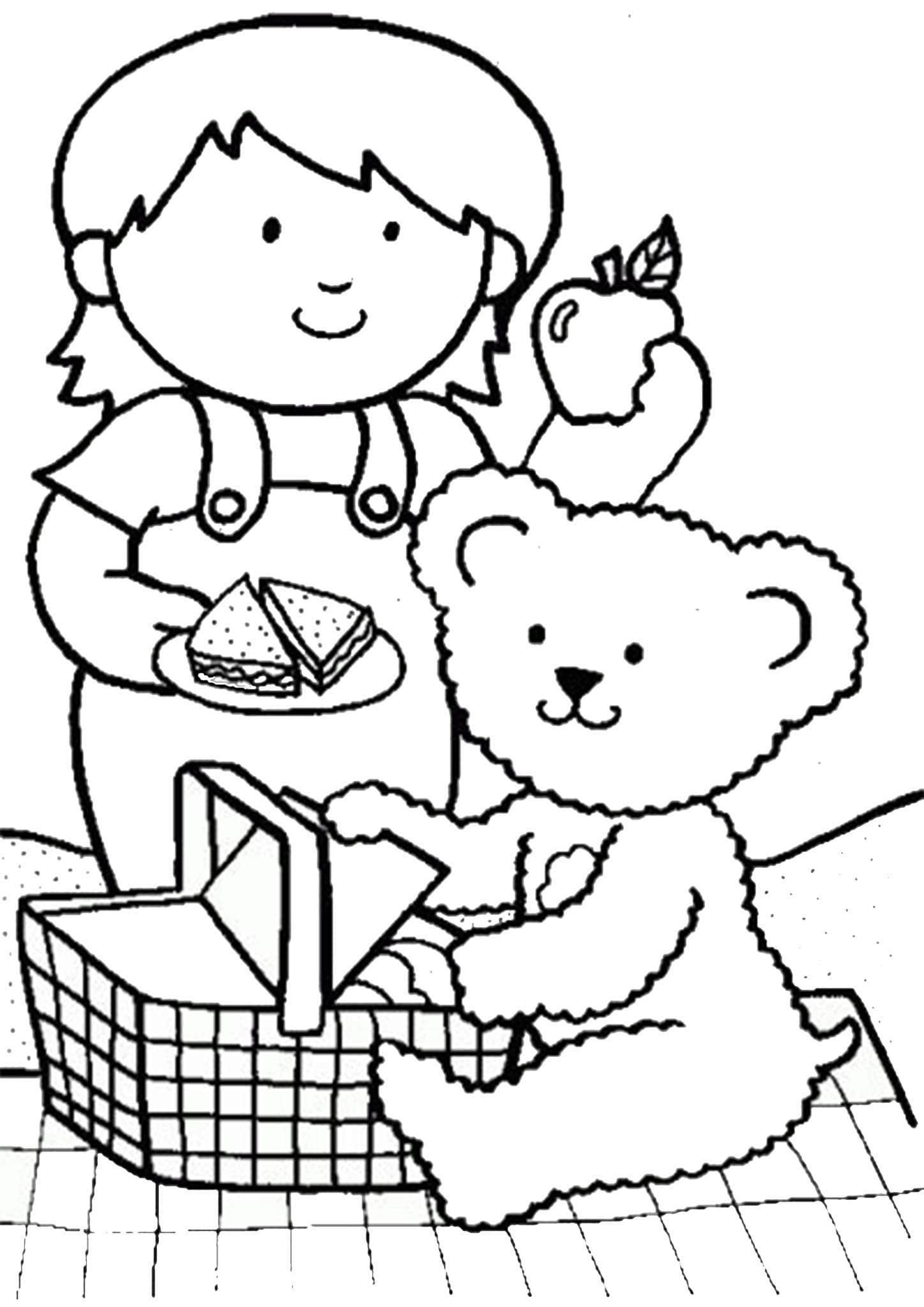 Free Amp Easy To Print Bear Coloring Pages In