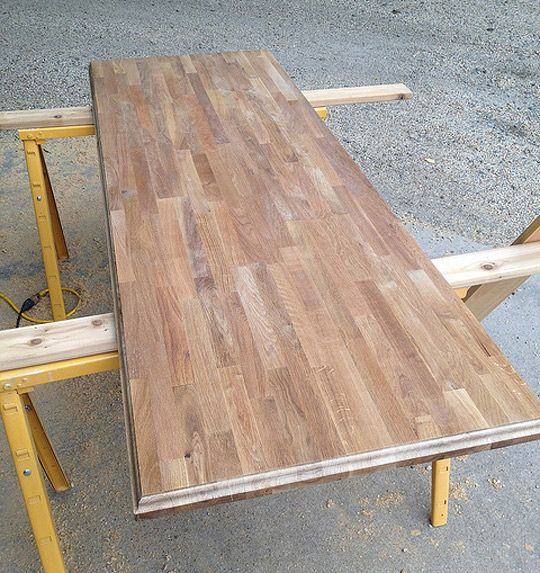 IKEA Butcher Block Countertop Upgrade: Give it an Edge!