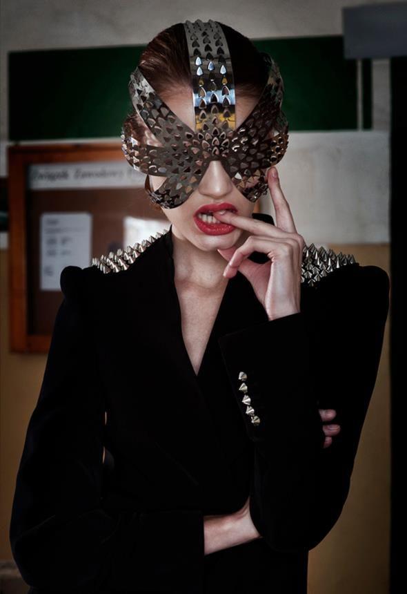 stainless steel mask: Slav Nowosad