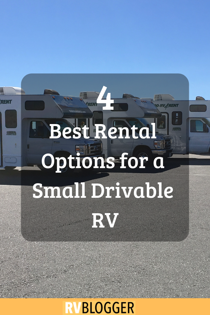 4 best rental options for a small drivable rv rv blogger rent rv rh pinterest com