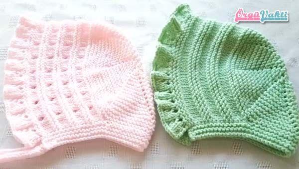 İNGİLİZ MODELİ LORA BEBEK ŞAPKASI YAPILIŞI AÇIKLAMALI VİDEOLU #bonnets