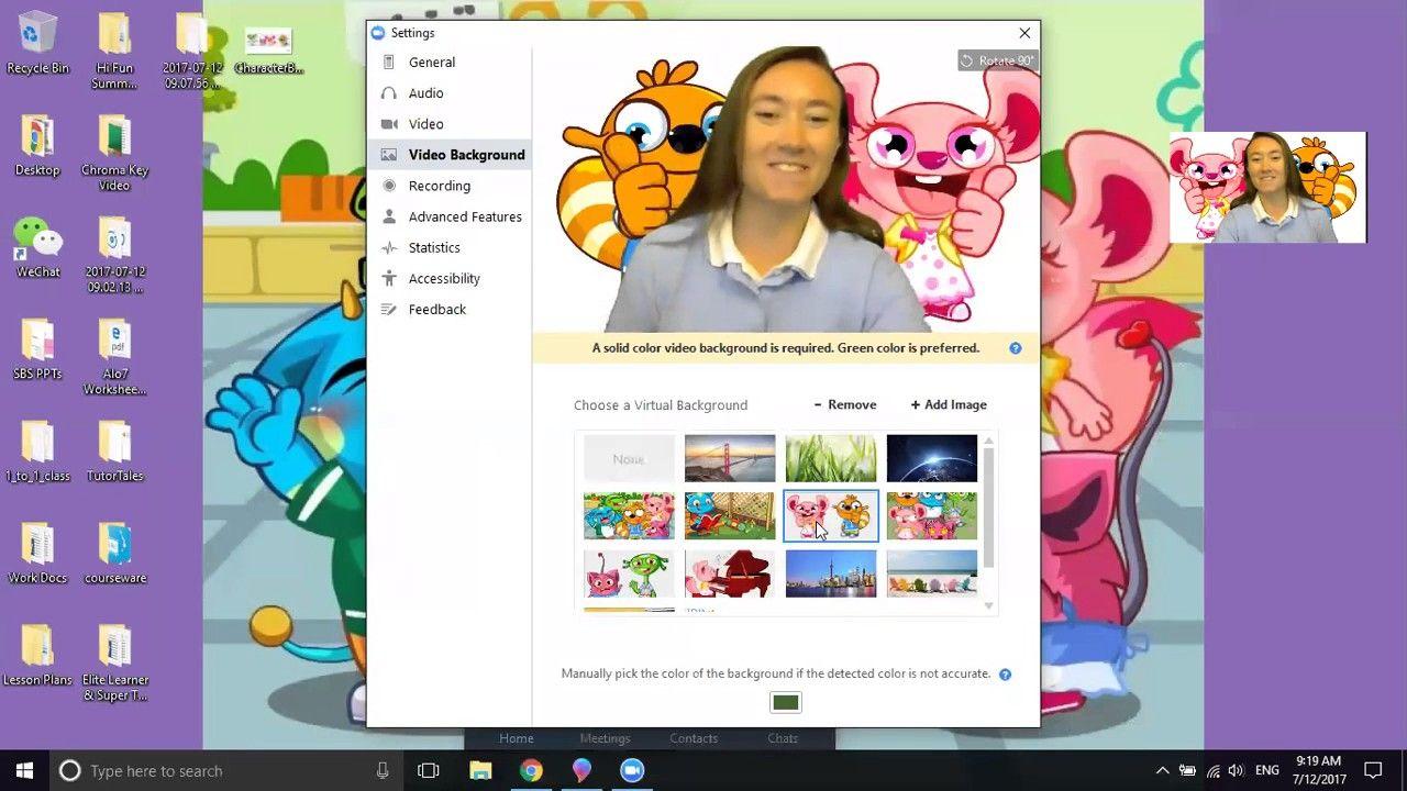 Setting Up A Virtual Classroom Background Video Alo7english Education Teaching Learning En Classroom Background Virtual Classrooms Phonics Kindergarten