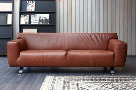 das sofa oscar perfekte erganzung wohnumgebung, label | design by gerard van den berg: sofa santiago in leather, Design ideen