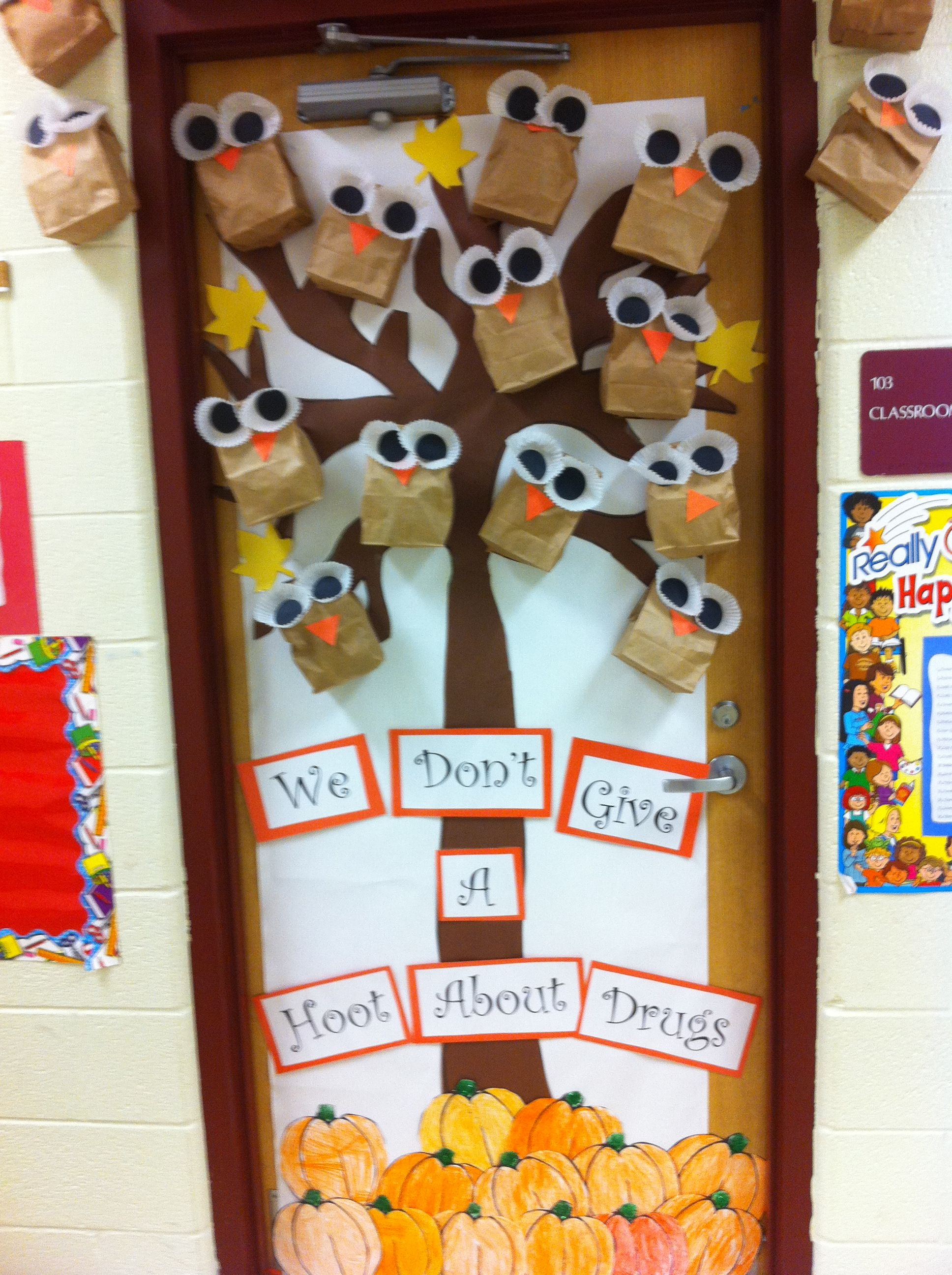 Red ribbon week door decorating inspiration red ribbon week door red ribbon week door decorating inspiration vtopaller Choice Image