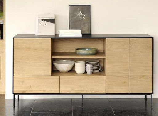 Oak Blackbird Sideboard Tall Tall Sideboard Ethnicraft Furniture Inspiration