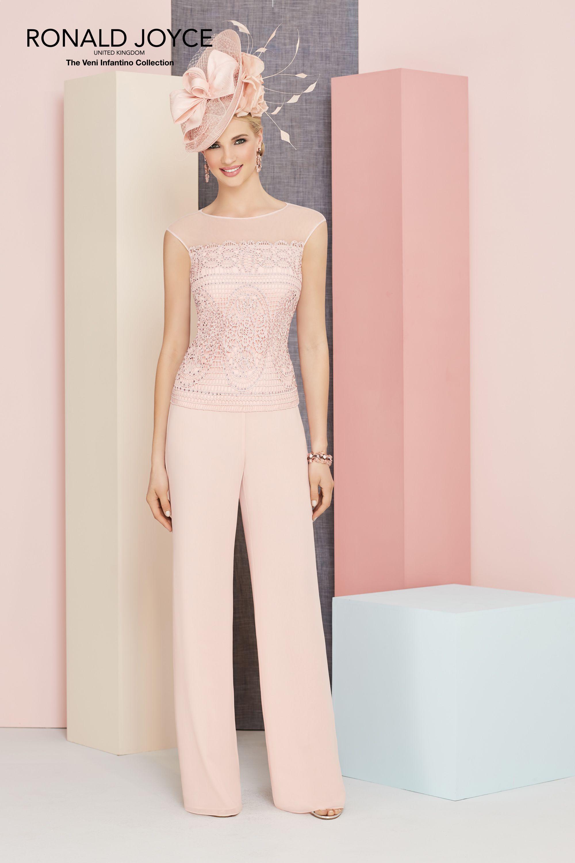 Ronald Joyce Trouser Suit, 991354, colour Almond (not as shown ...